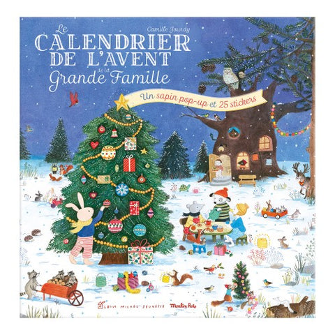 Advent calendar La Grande Famille Moulin Roty