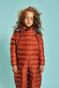 Fluff Snowsuit - Ginger Amber