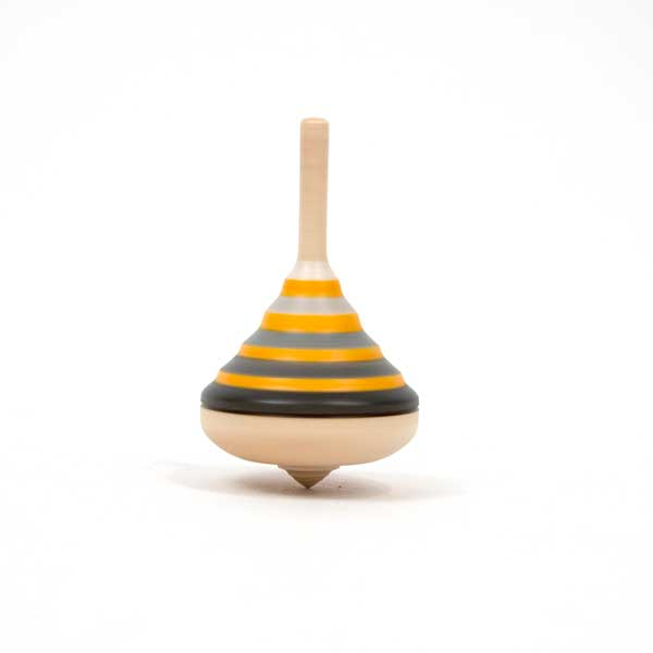 Mader Lady Grey Spinning Top
