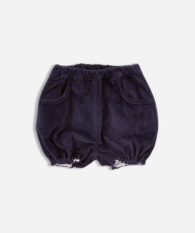 Olivier Baby London Bobby Bloomers, Chunky Navy Cord