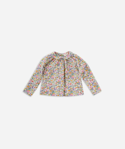 Olivier Baby London Norma Shirt, Safari Pink