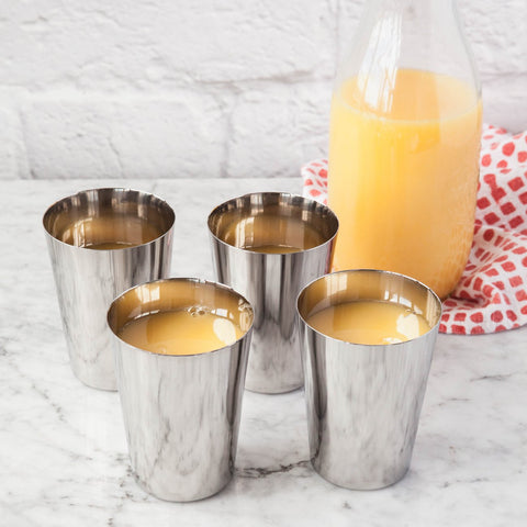 Dalcini Stainless Steel Cups (300 mL)