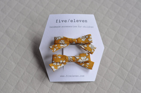 Five/Eleven Barrettes -  Liberty and co.