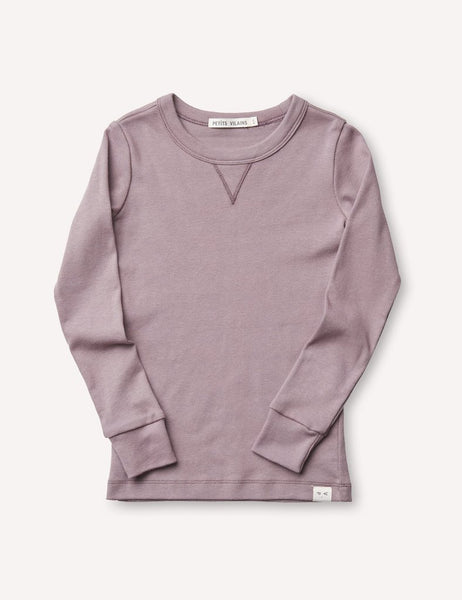 Dominique Long Sleeve Crew