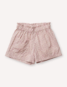 Petits Vilains Camille Flutter Short - Feather Fields Pink