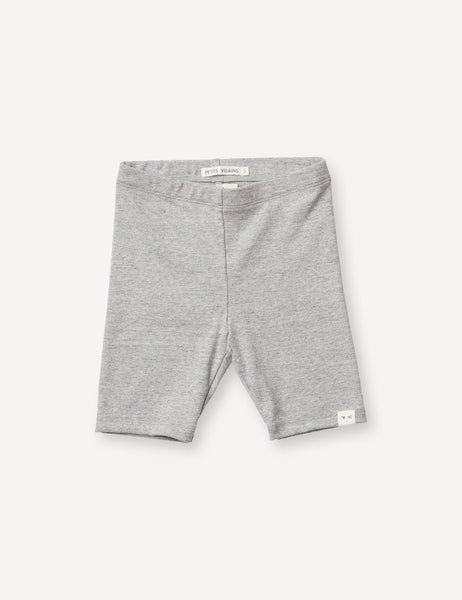 Petits Vilains  Laure Bike Short - Heather Grey