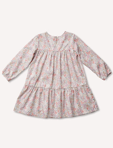 Florence Tier Dress - Sweet May Blush