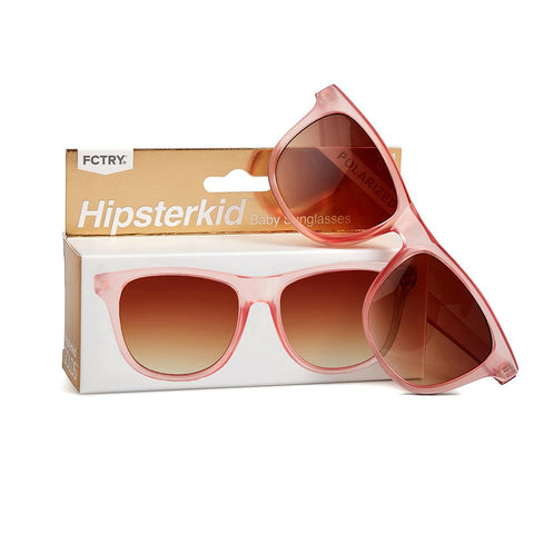 Hipsterkid Polarized Kids Sunglasses, GOLDs - Rosé
