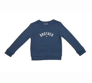 Bob and Blossom Denim Blue Brother Sweatshirt