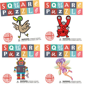 House of Marbles square puzzles | pocket money classics