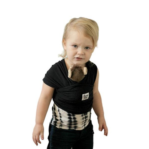 Mini Beluga Children's Doll Carrier - Black