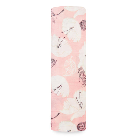 Silky Soft Swaddle Pretty Petals - Soft Petals