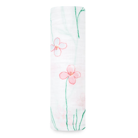 Aden and Anais Forest Fantasy - Floweres Classic Swaddle