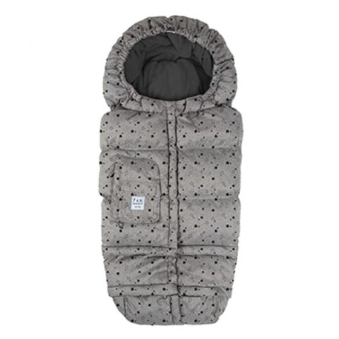 7 A.M. Enfant - 212 Evolution Blanket Heather Grey Stars