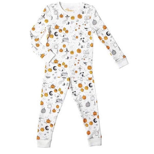 Petidoux 5 Little Pumpkins Long Sleeve Pjs