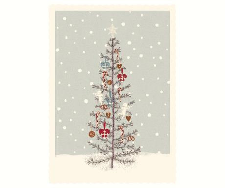 Maileg Card - mini Christmas Tree