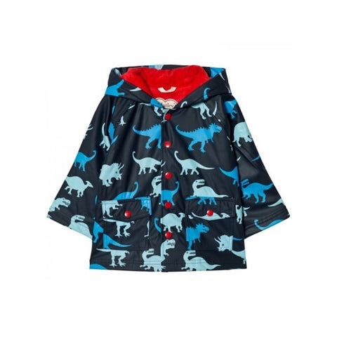 Hatley Raincoat Dino Shadow