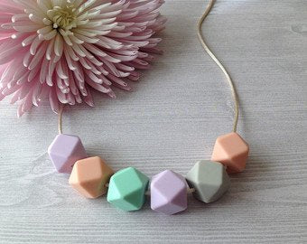 Sweetie Pie Dove Pastel Mama Necklace