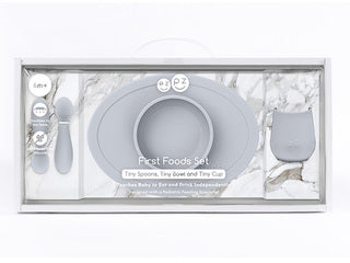 Ezpz First Foods Set - Pewter