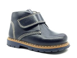 Nubebe Toddler Navy Leather Boots