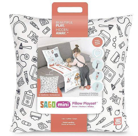 Sago Mini Pillow Playset Harvey's Doctor Office