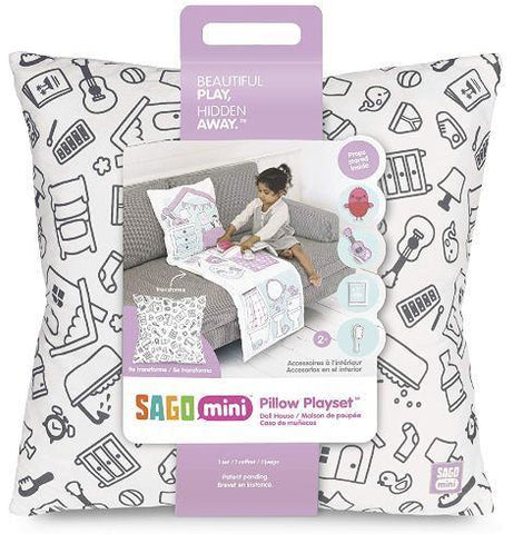 Sago Mini Pillow Playset Robin's Doll House