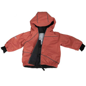 Calikids Mid Season Waterproof Lined Jacket - Orange