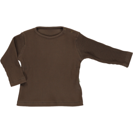 Olive Ribbed T-shirt - Carafe