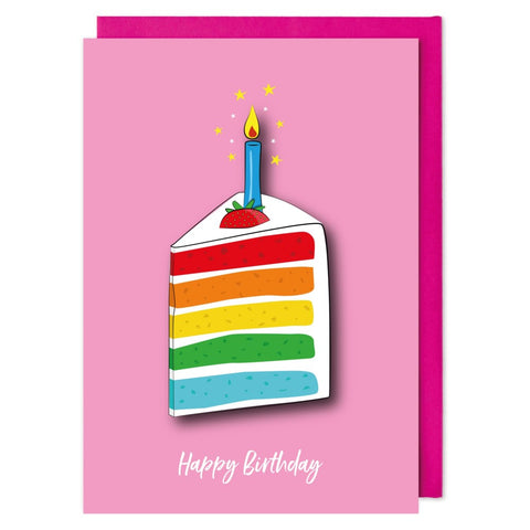 Slice of Cake Birthday Card