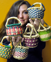 Teeny Tiny Assorted Bolga Baskets