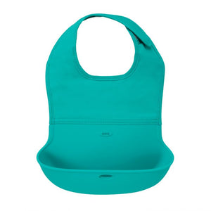 OXO Tot Roll-Up Bib - Aqua