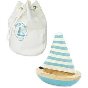 Wooden Bath Sailboat