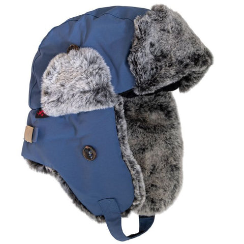Calikids Trapper Hat - Dark Denim