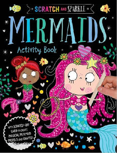 Scratch and Sparkle: Mermaids Activity Book