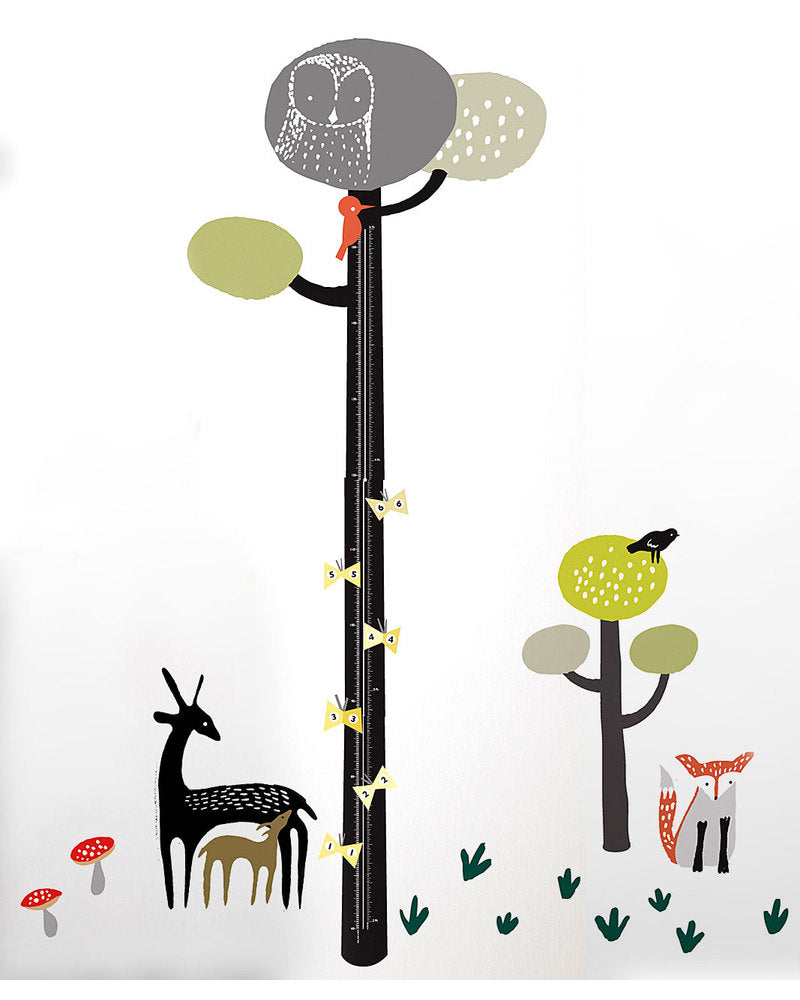 Wee Gallery Quiet Forest Growth Chart