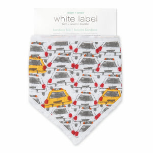 Aden and Anais Bandana bib City Living - Taxis