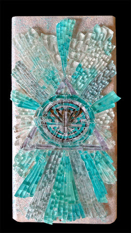 Mosaic Energy Lamp Abundant Prosperity