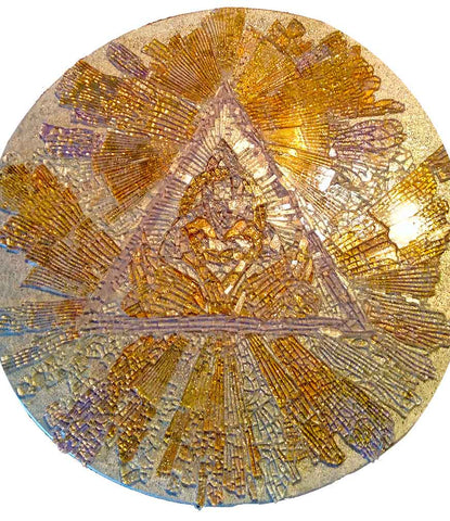 Mosaic Art Glass - The Circle of Everlasting Love