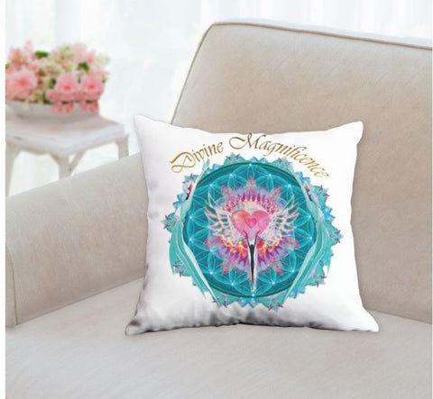 Throw Pillow Divine Magnificence