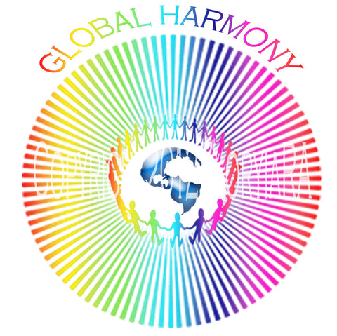 Window Decal Global Harmony