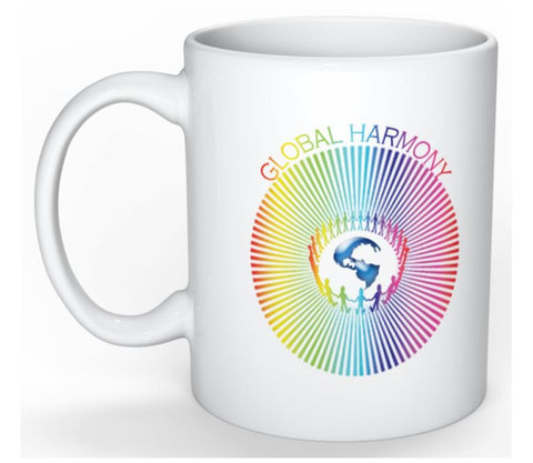 Coffee Mug Global Harmony White