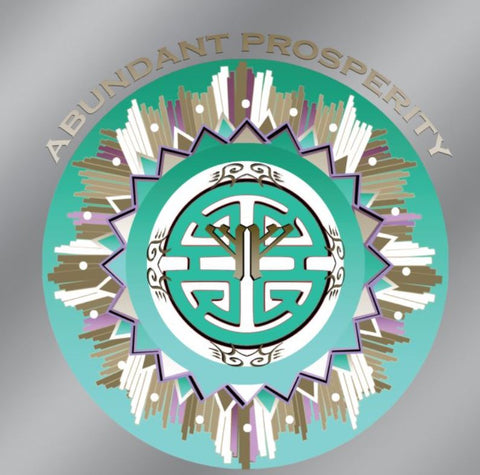 Window Decal Car Abundant Prosperity Symbol