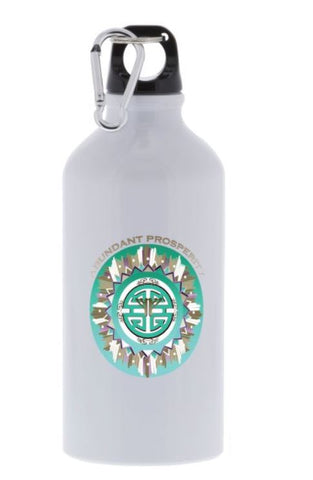 Sport Bottle Abundant Prosperity Energy Mandala