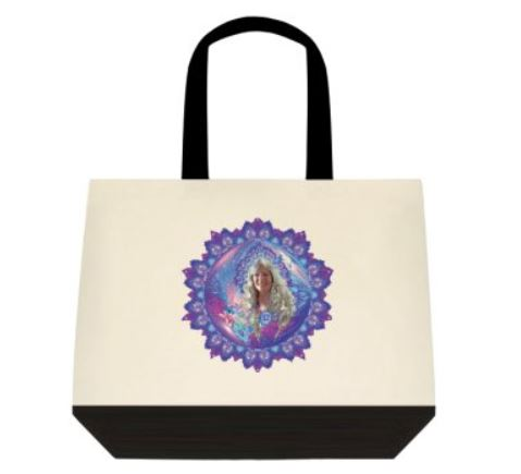 Tote Bag Aura Portrait and Mandala