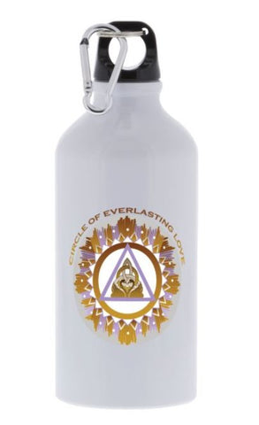 Sport Bottle The Circle of Everlasting love Energy Mandala