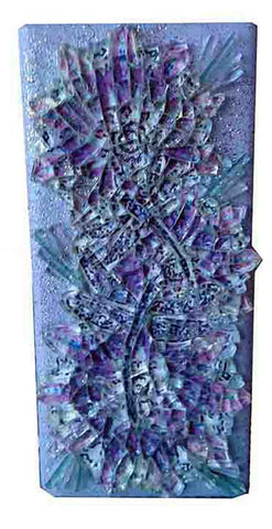 Mosaic Art Glass Lamp - Joyful Dragonfly