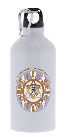 Sport Bottle Empowerment of Forgiveness Energy Mandala