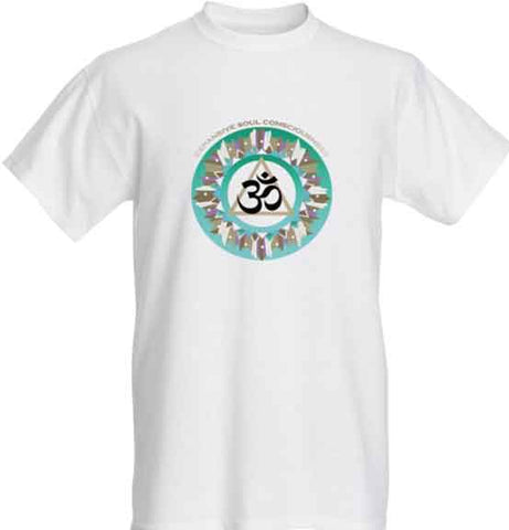 Short Sleeve Tshirt - Expansive Soul Consciousness Design