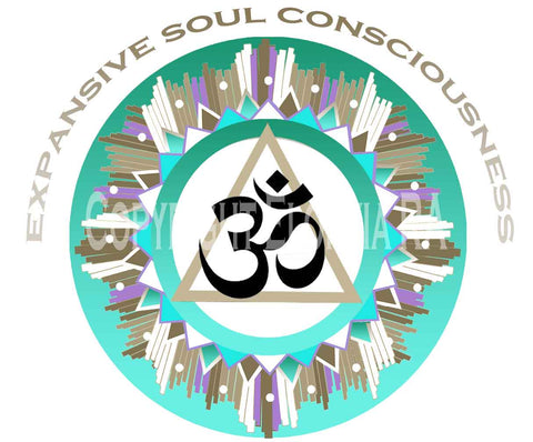 Window Decal 8x8 - Om Symbol Expansive Soul Consciousness