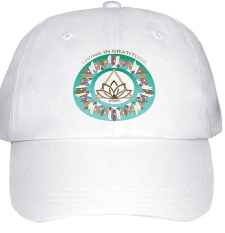 Ball Cap - Living in Gratitude Design
